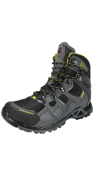 Mammut Comfort High GTX Surround Shoes Women black/graphite